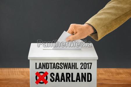 sarre seleccionar landtag eleccion la eleccion