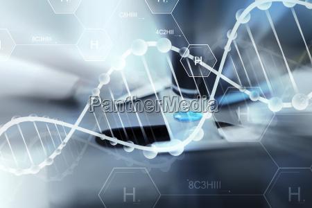 azul vidrio vaso herramienta medicinal experimento