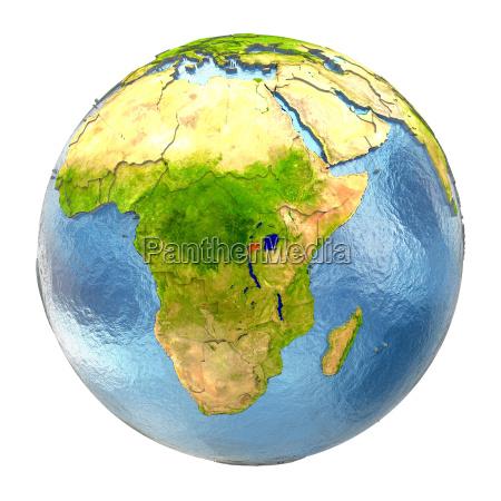 medio ambiente liberado ciencia africa ilustracion