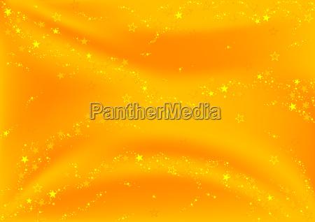 golden sparkly stars background