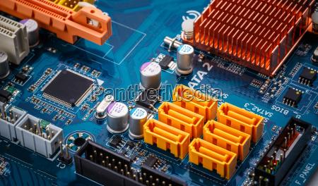 placa de circuito electronico