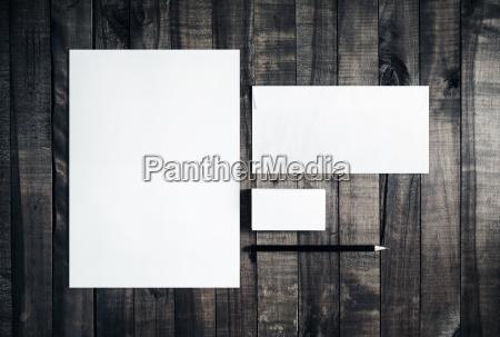 maqueta para identidad de marca