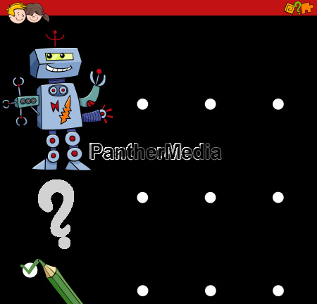 shadow differences game with robot