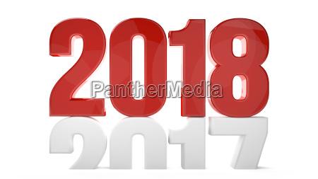 2018 2017 anyo nuevo sylvester 3d