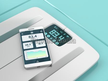 telefono peso inteligente escala importancia aptitud