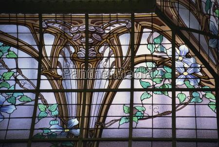banco paseo viaje detalle arte ventana