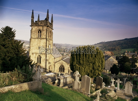 matlock church matlock peak district derbyshire