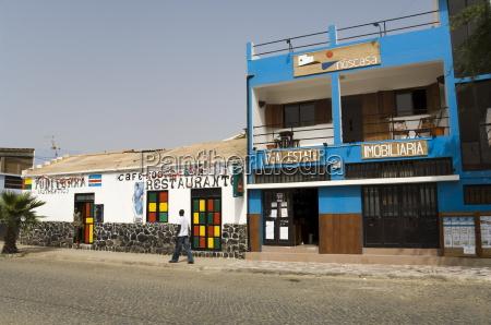 restaurante sal paseo viaje ciudad africa