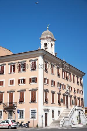town hall livorno tuscany italy europe