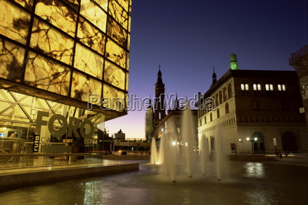 museo del foro and fountains in