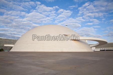 moderno cupula horizontalmente museo lugares al