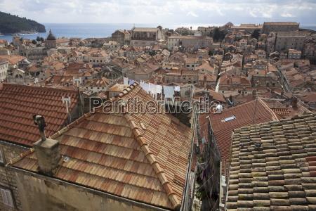 ciudad casco antiguo europa horizontalmente ciudades