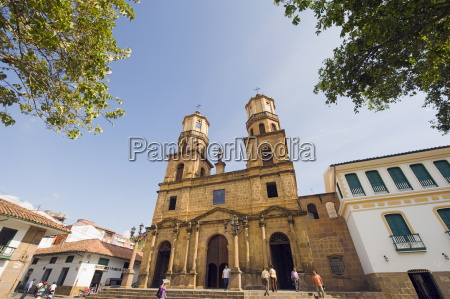 the 18th century cathedral san gil
