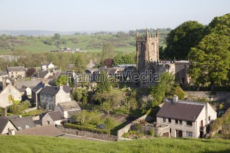 hartington village and church peak district