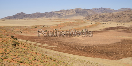desierto africa namibia horizontalmente al aire