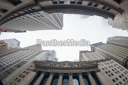 ciudad americano columnas eeuu mercado america