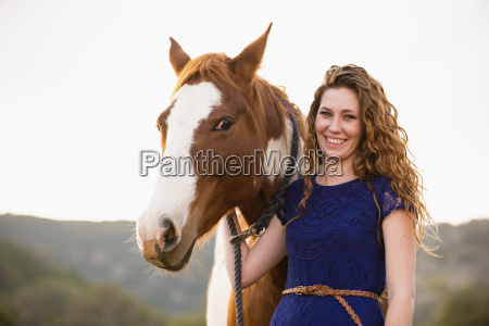 risilla sonrisas caballo animal retrato al
