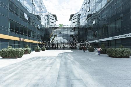 edificios de oficinas modernos novi beograd