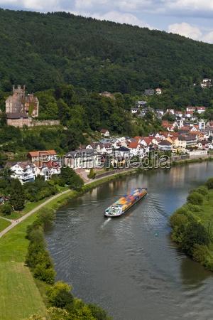 germany hesse neckarsteinach mittelburg castle container