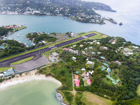 caribbean st lucia aerial photo of