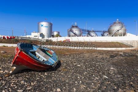 paseo viaje industria planta industrial espanya