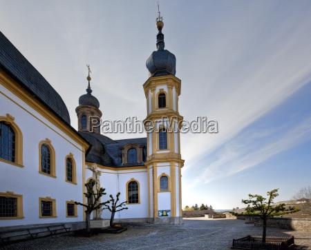 alemania baviera wurzburg vista de peregrinacion