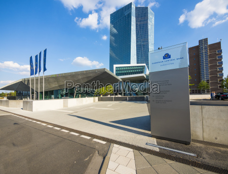 alemania francfort banco central europeo entrada