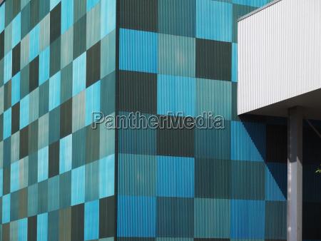 azul moderno industria alemania al aire