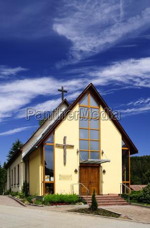 alemania sajonia schmiedeberg iglesia libre evangelica