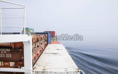 germany hamburg container ship generating waves