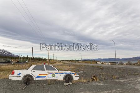 canada munyeco de coche de policia