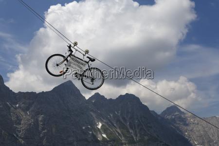 paseo viaje nube alpes austria al