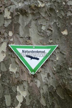 signo de proteccion de la naturaleza
