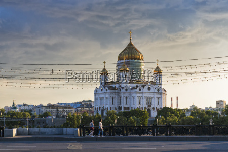 rusia moscu catedral de cristo salvador