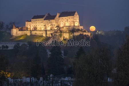 alemania baviera burghausen castillo y luna