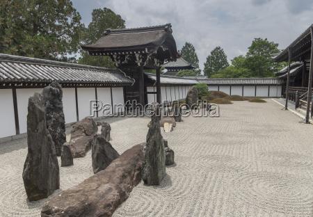 japon kyoto templo tofoku ji jardin