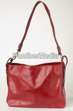 bolso de la dama roja de