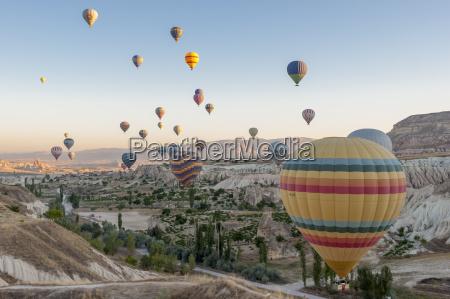 turkey hot air ballons in cappadocia