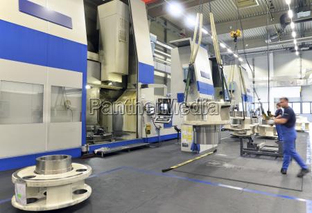 alemania produccion de tubos eolicos componentes