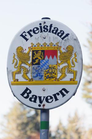 simbolico baviera comunicacion alemania al aire