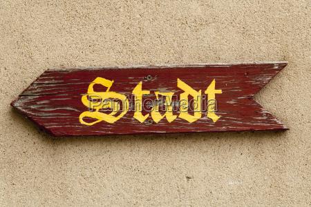 germany bavaria sign post