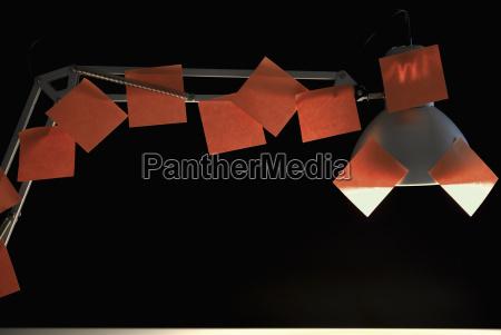 nota escritorio fotografia foto iluminado ver