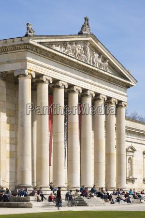 germany bavaria munich glyptotheque at royal