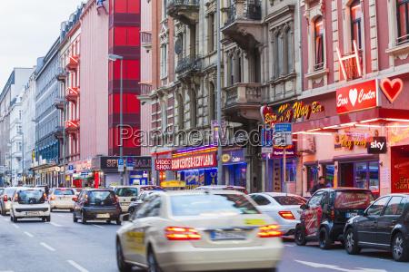 alemania hesse frankfurt barrio rojo en