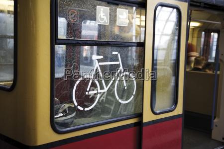 germany berlin tram close up