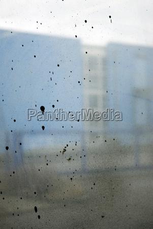 panel de ventana sucio cerrar