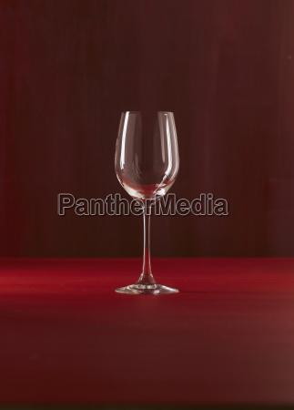 copa de vino individual de cerca