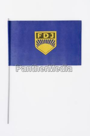 bandera con el simbolo de la