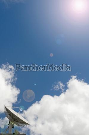 nueva zelanda auckland antena parabolica con