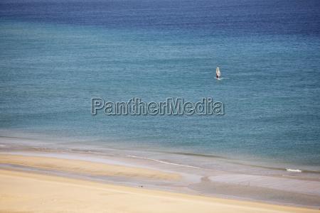 espanya islas canarias fuerteventura jandia windsurfer